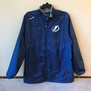 Tampa Bay Lightning Reebok Mens Center Ice Jacket
